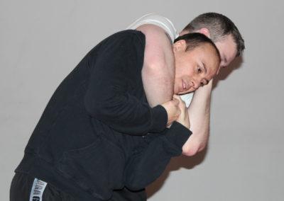 Forsvar mot headlock
